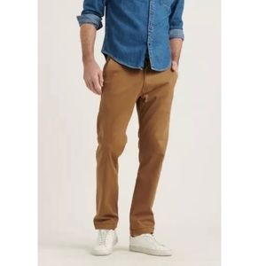 Lucky Brand 410 Athletic Fit Beige Chino Pants
